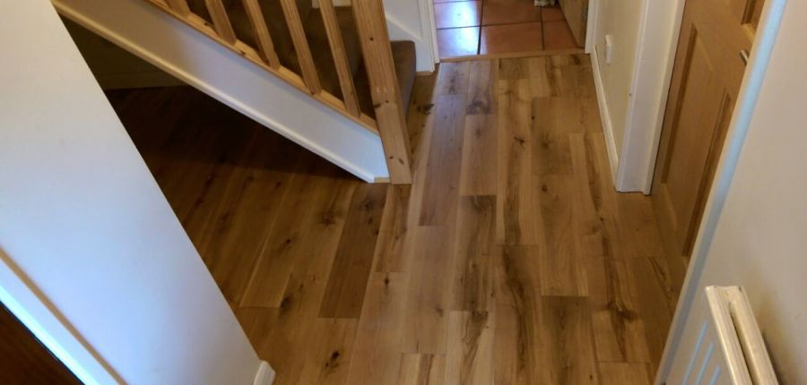 V4 EP101 Oak Flooring fit Bristol